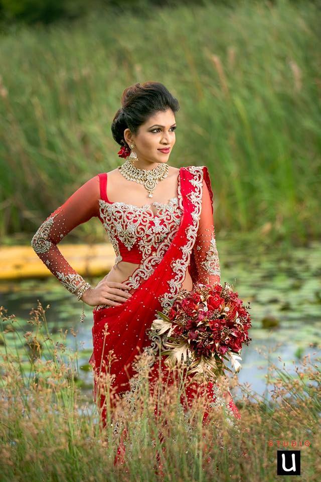 Pin by yashodara rathnathilaka on 2nd day brides for Wedding party dresses in sri lanka