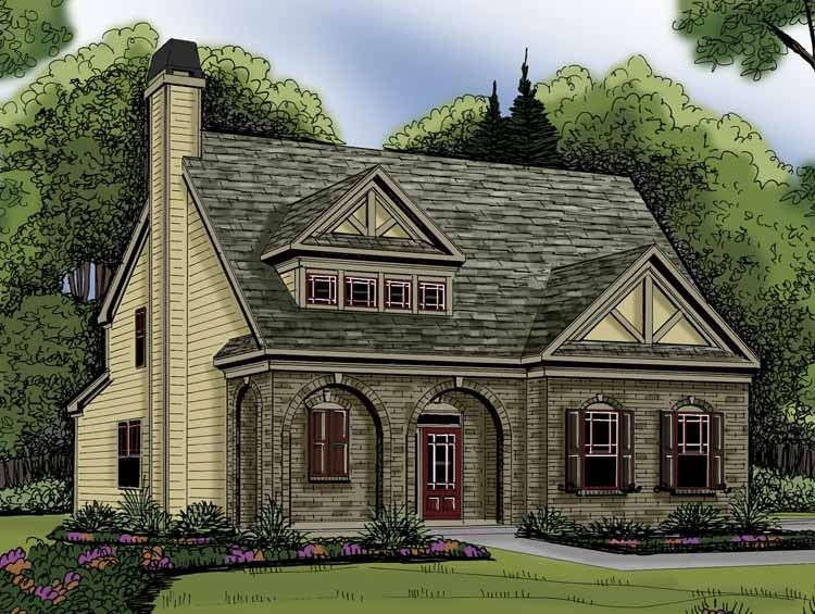Eplans tudor house plan elegant european cottage 2021 square feet and 4 bedrooms from eplans house plan code