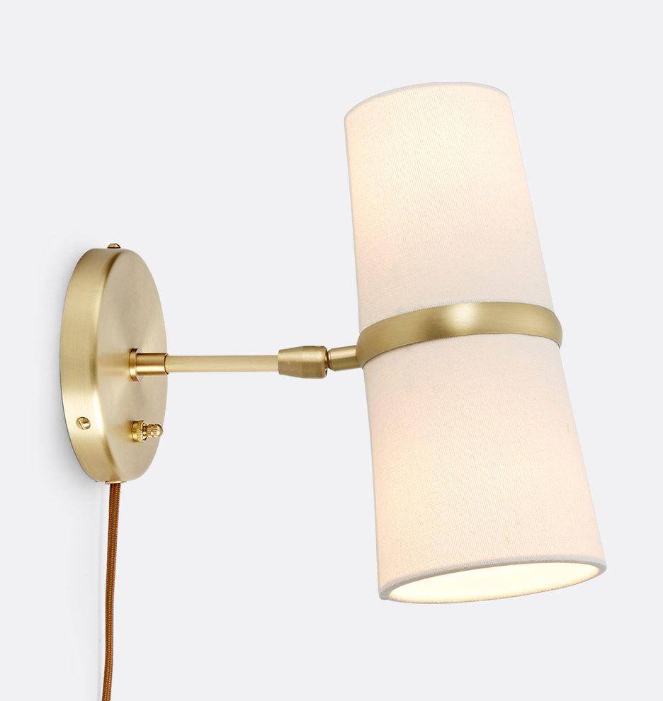 Conifer Short Plug In Wall Sconce Rejuvenation Plug In Wall Sconce Wall Sconces Plug In Wall Lights