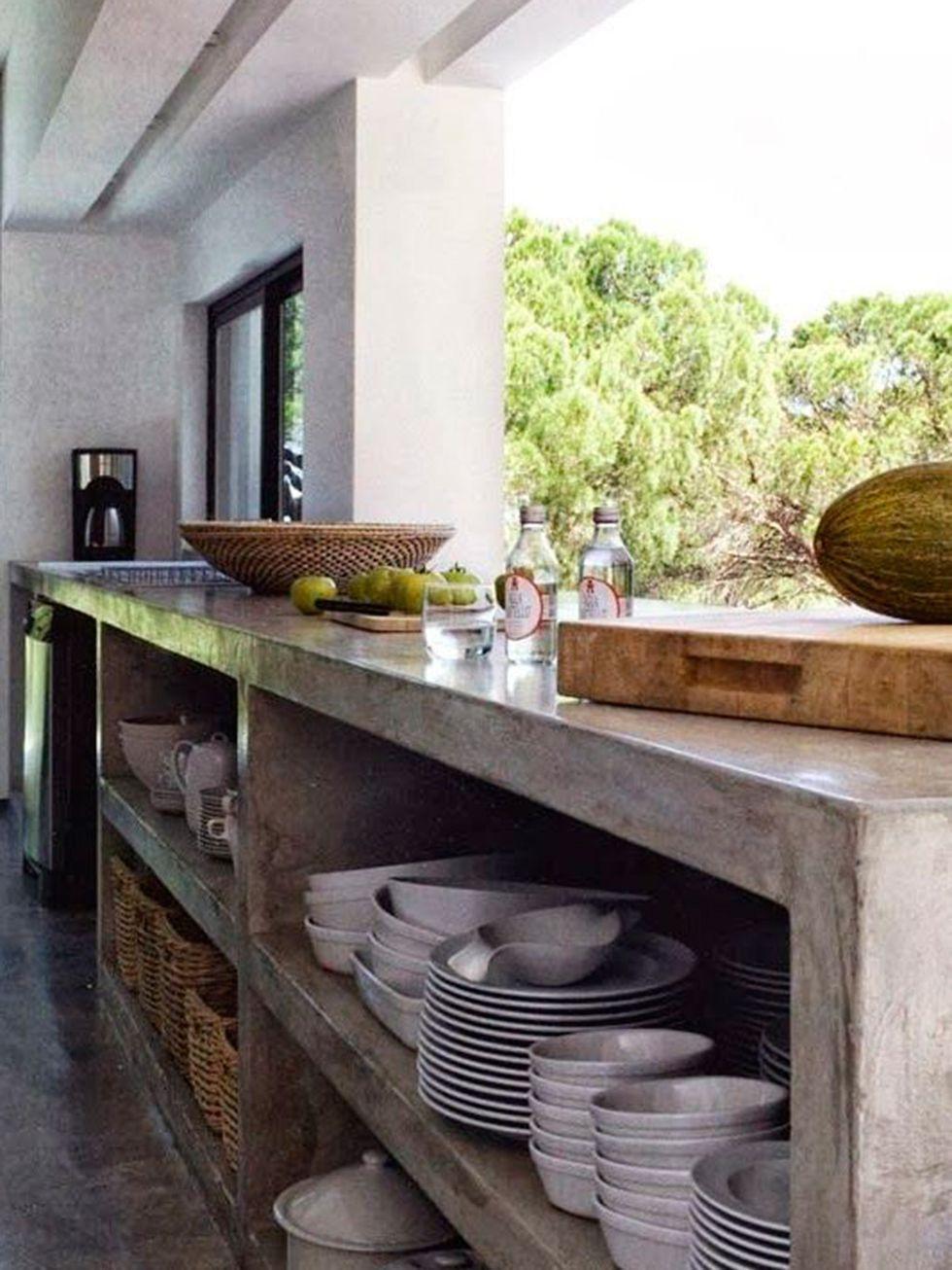 20 Cocinas De Exterior Cocinas Cocina De Concreto Cocinas De Obra