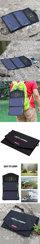allpowers 5v 10w sunpower solar charger panel waterproof usb
