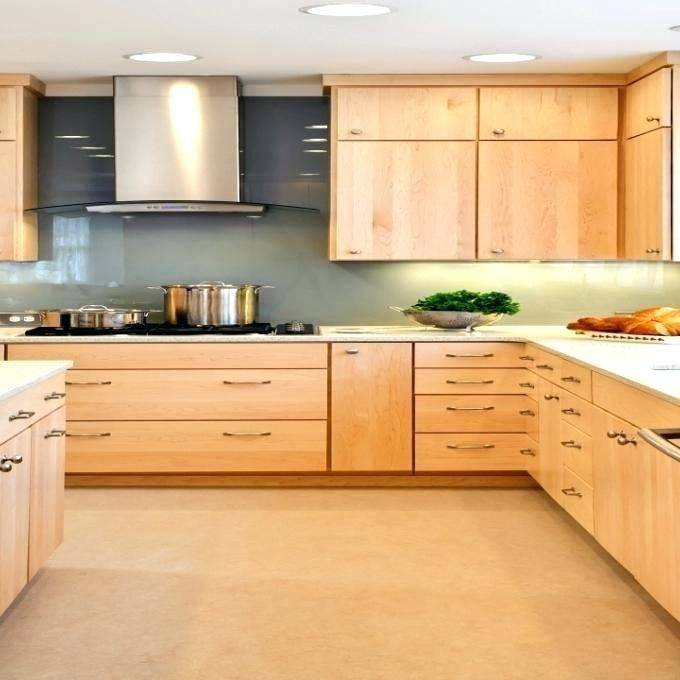 Wall Color With Maple Cabinets Kitchen Maple Cabinets ...