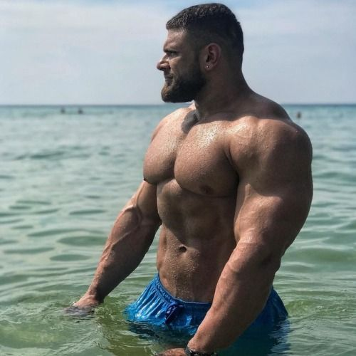 Hairy Men, Muscle Men, Big Men