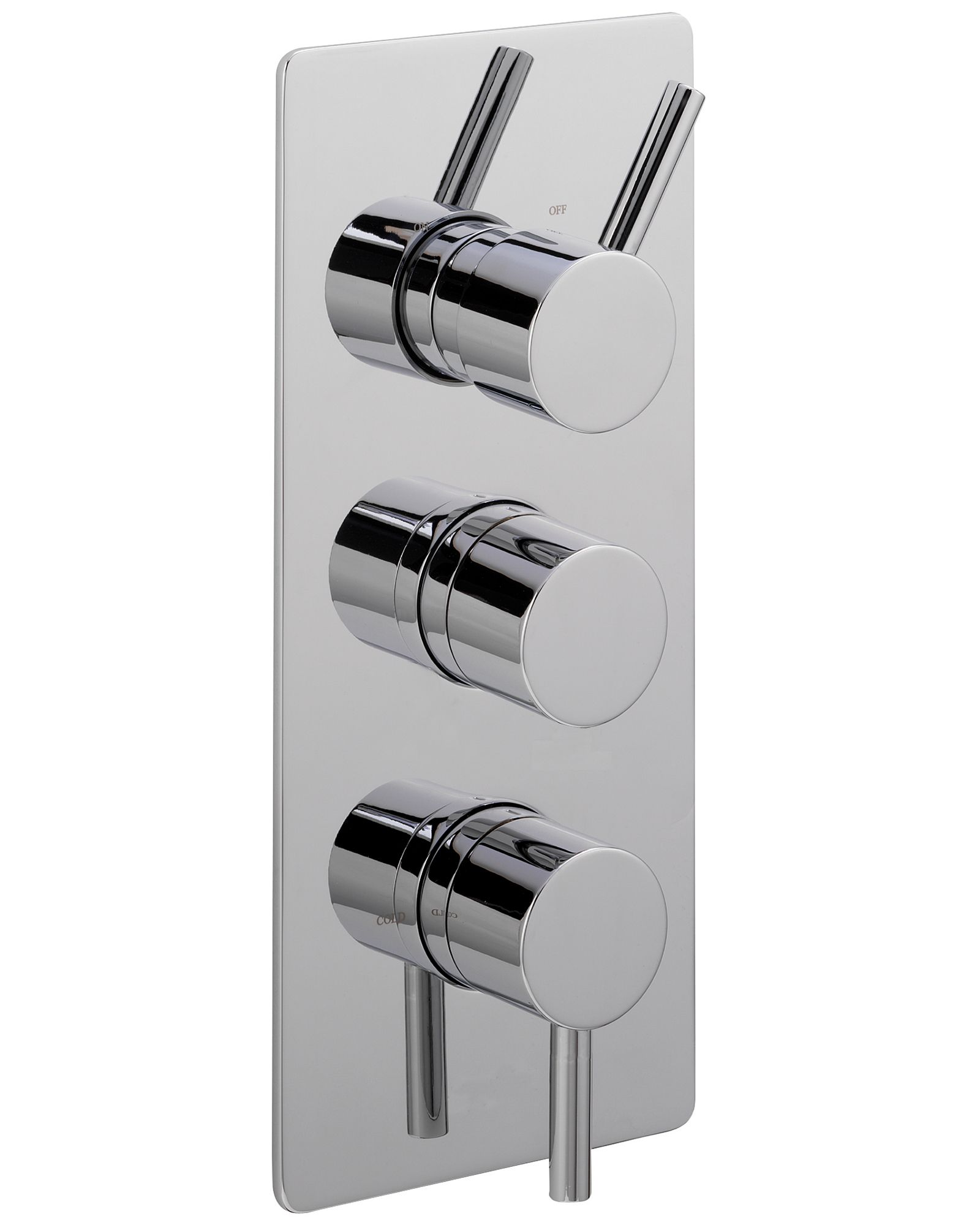 Sagittarius Ergo Concealed Thermostatic Shower Valve With 3 Way