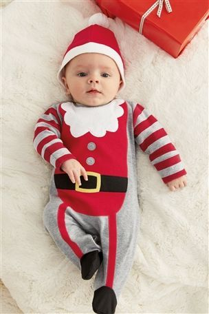Buy Santa Sleepsuit (0mths-2yrs) from the Next UK online shop - Buy Santa Sleepsuit (0mths-2yrs) From The Next UK Online Shop Kids