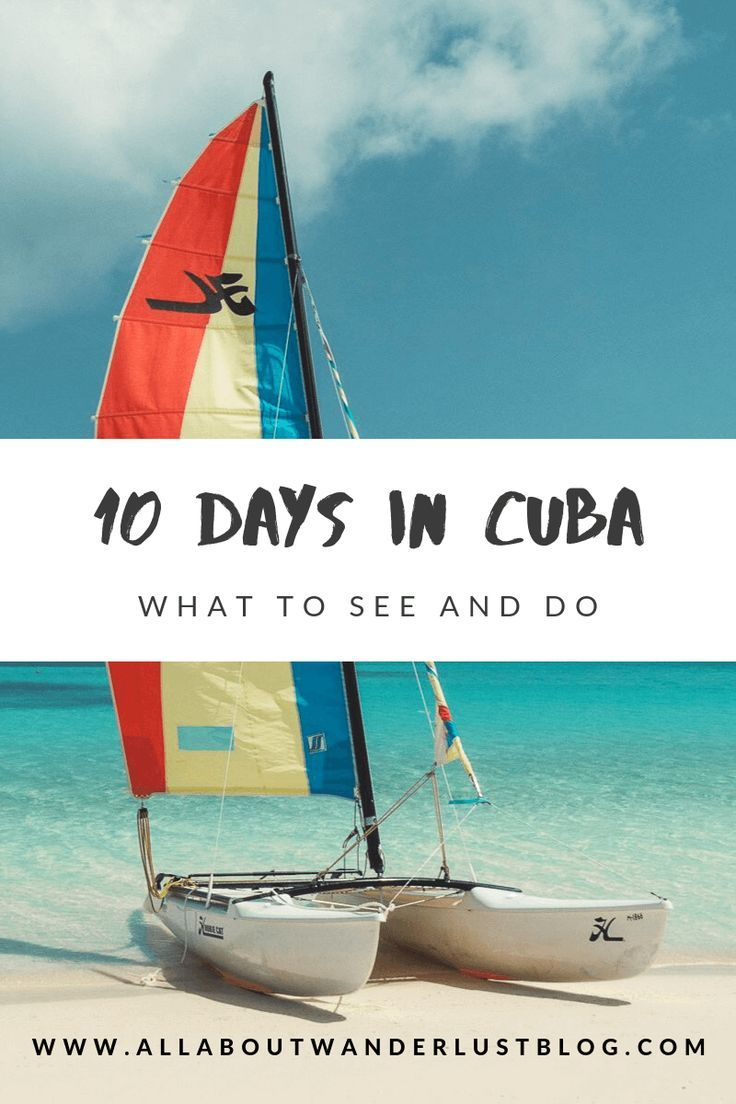 Planning a trip to Cuba?  Here is our 10-day itinerary with all our favorite things to see and do on this Caribbean Island. #Cuba #VisitCuba #TravelCuba #SeeCuba #ExploreCuba