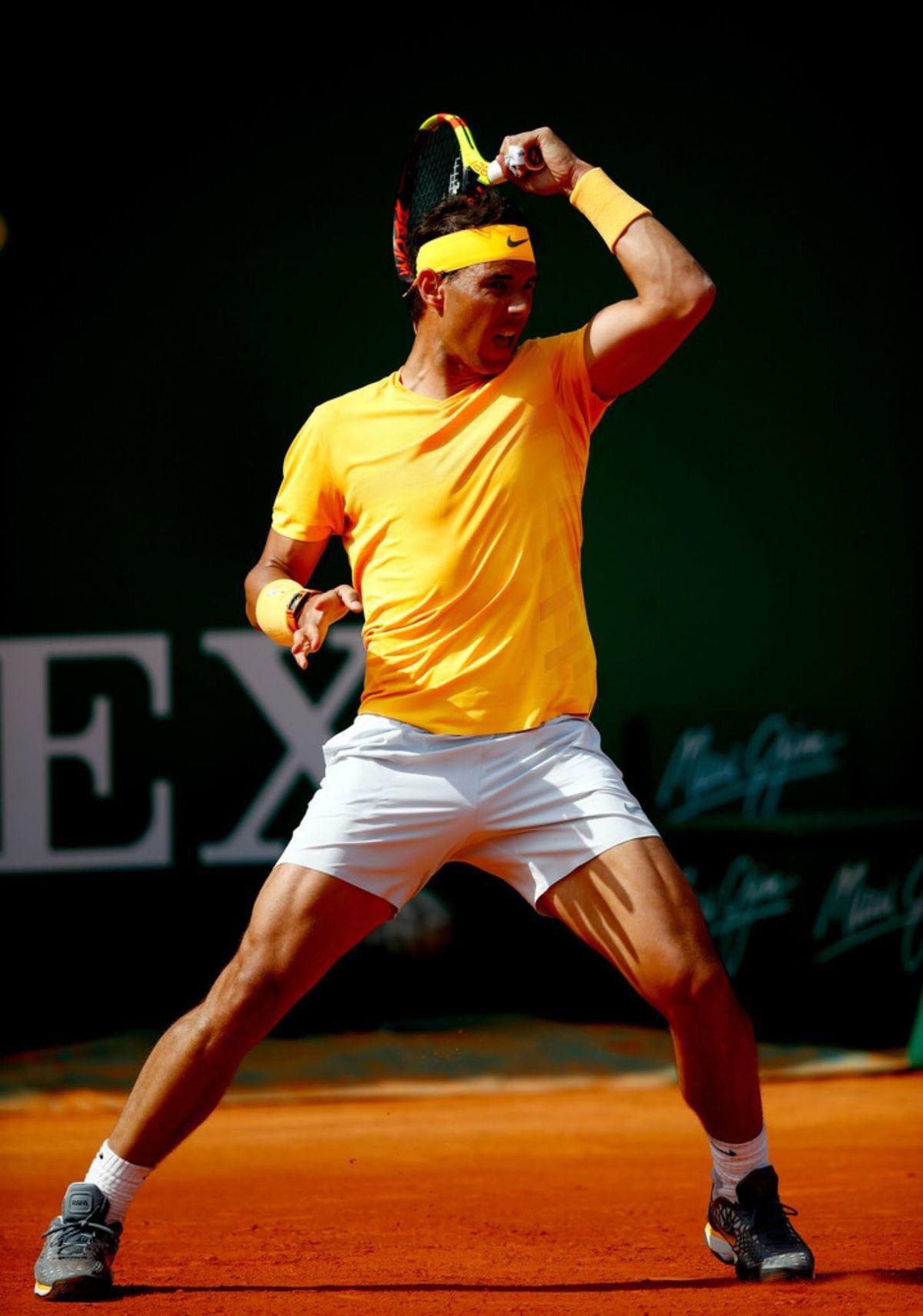 Strong Nadal Tennis Rafael Nadal Rafa Nadal