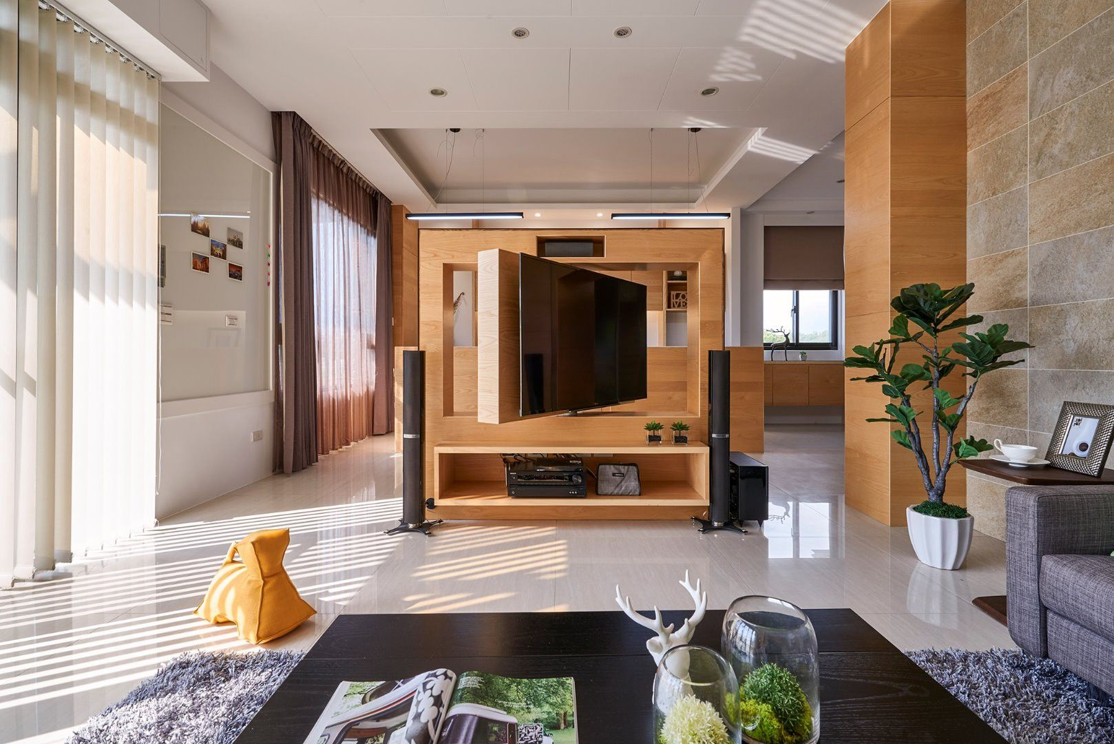 Small Living Spaces Residential Interior Design Hong