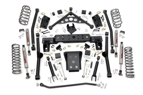Rough Country 4 Long Arm Suspension Lift Kit For Jeep Grand