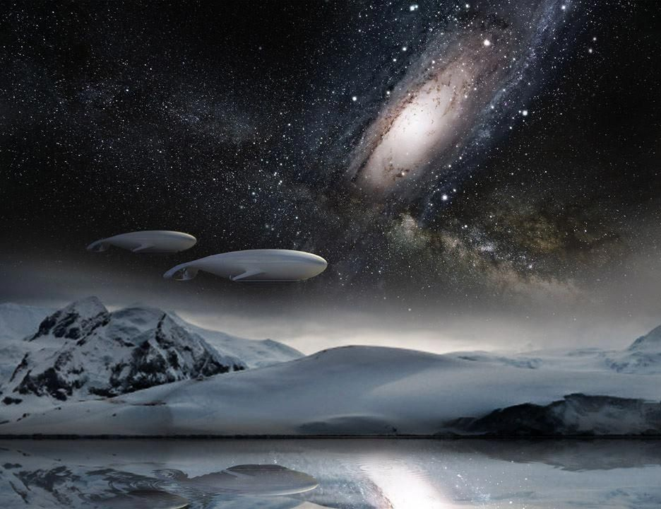 Andromeda Galaxy colliding with our Milky Way #andromeda # ...