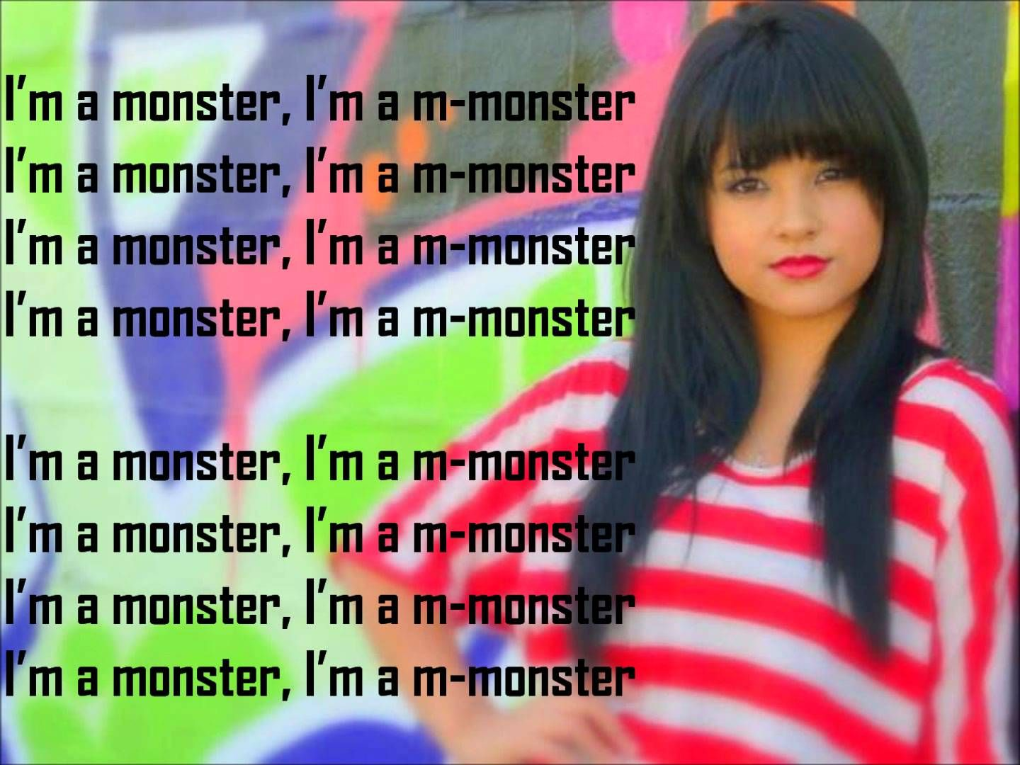 My Favorite Singer Singing Song Becky G Im A Monster