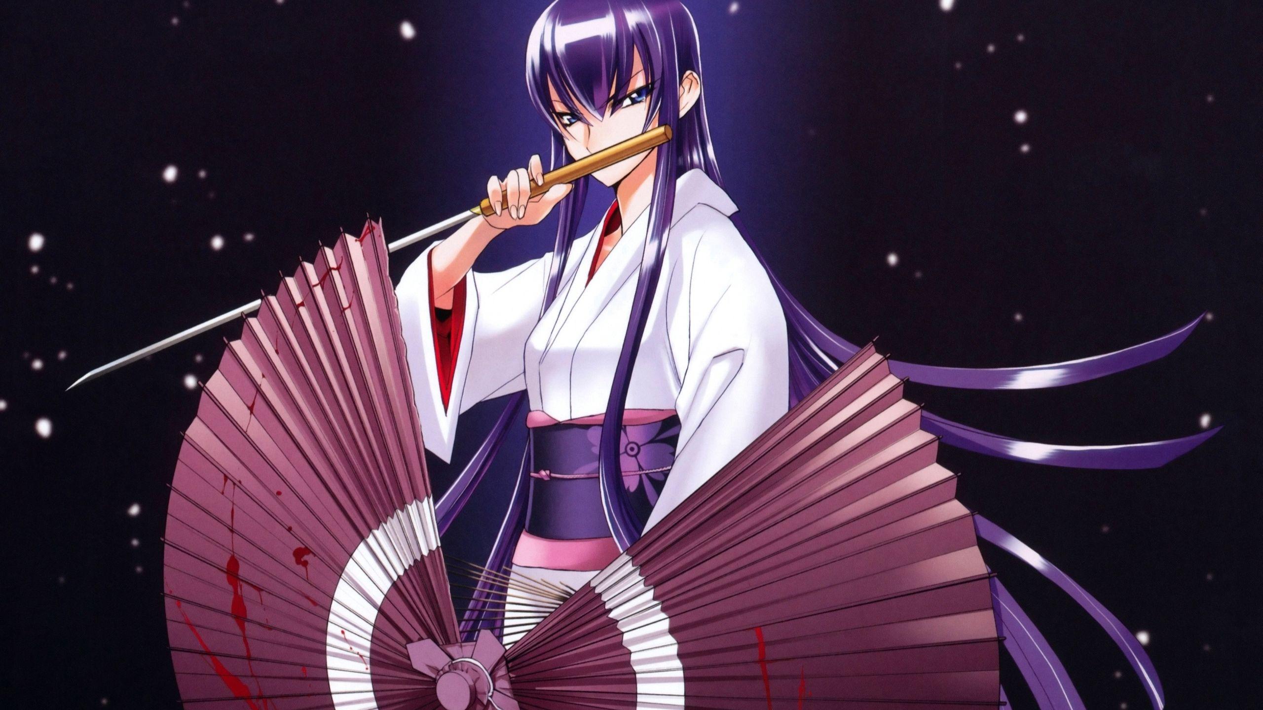 saeko busujima wallpaper