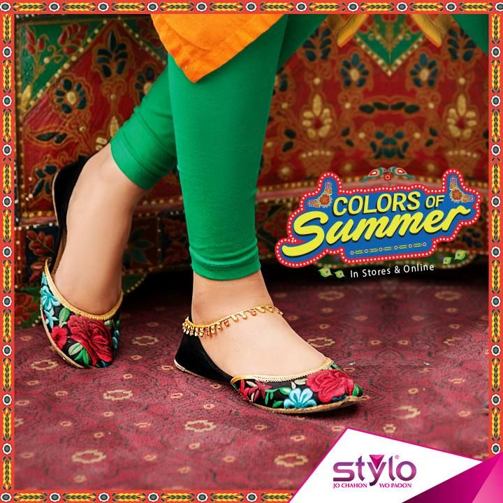 8490d8486569 Stylo Shoes Summer Collection 2018 Latest Women Footwear Designs ...