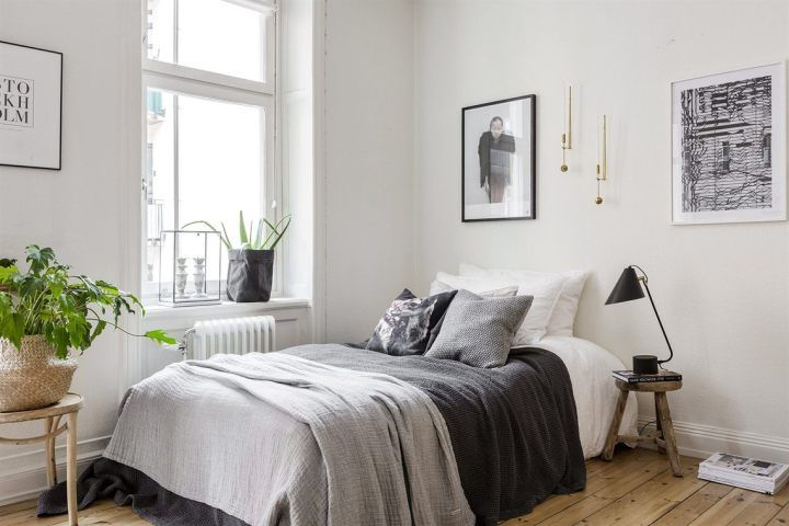 Decoración nórdica para estudiantes Bedrooms, Future and House