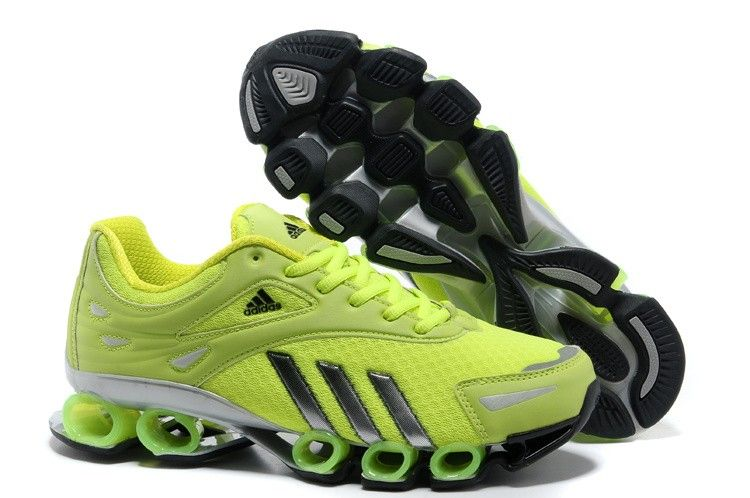 Adidas Bounce 6 Mens Green Black Gray Running Shoes tenis adidas Regular  Price: $180.00 Special
