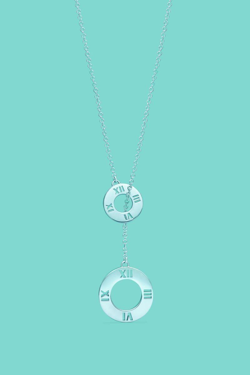 d05dc16be Tiffany & Co. | Item | Return to Tiffany? mini double heart tag pendant in  silver with enamel finish. #jewellery Tiffany #Tiffany