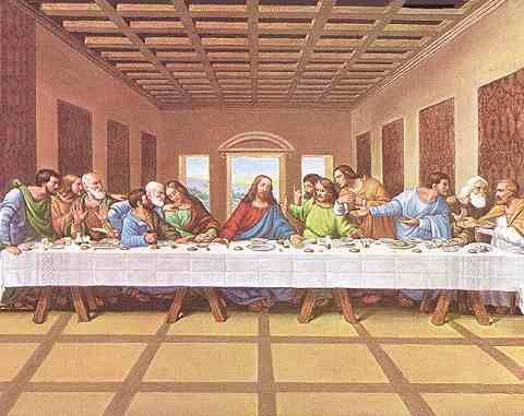 Famous Last Supper Painting With Images Last Supper