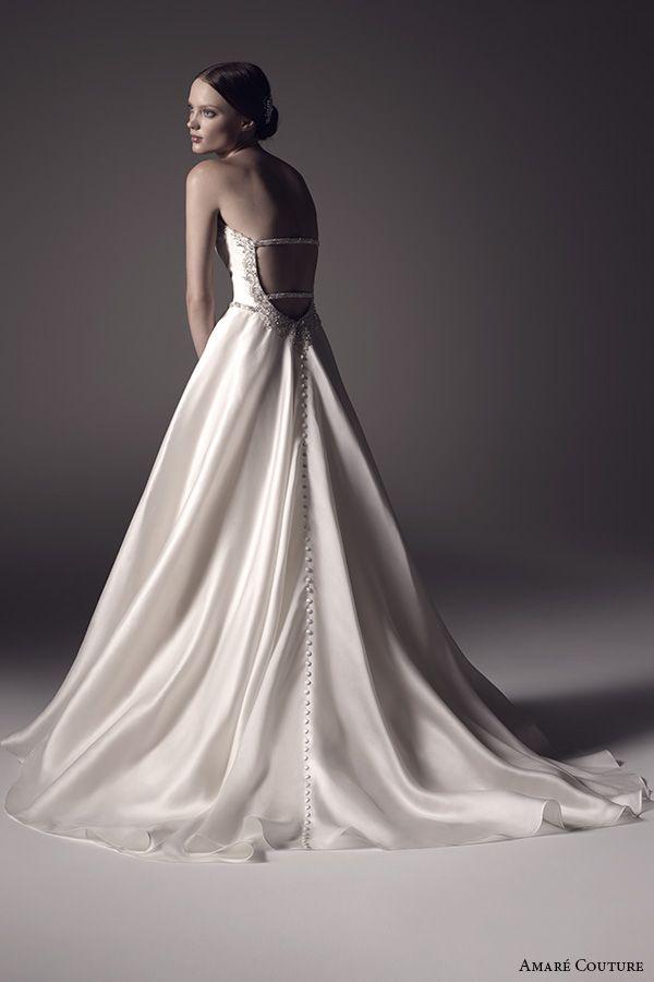 Amaré Couture Spring 2016 Wedding Dresses