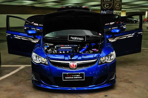 Blue FD2 Type R Civic · Super CarsHonda ...