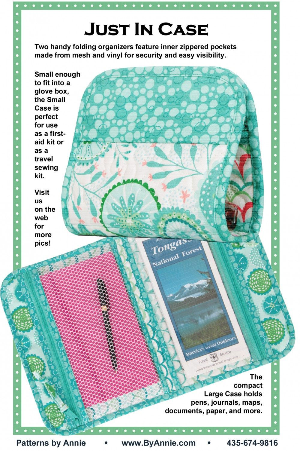 Just In Case Sewing Pattern By Annie Unrein Travel Sewing Kit