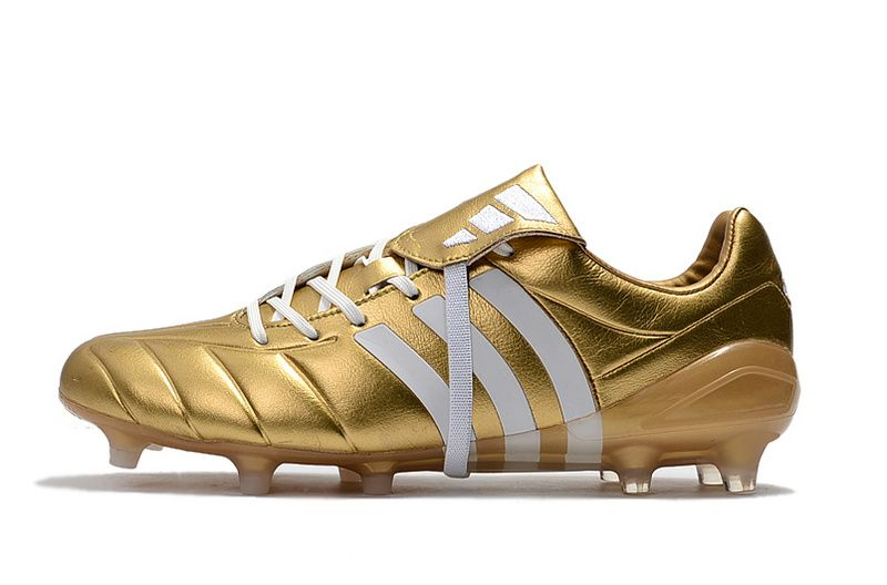 c89a1eef4f5c 2017-2018 FIFA World CUP New Soccer Cleats Adidas Predator Mania Champagne  FG Gold White