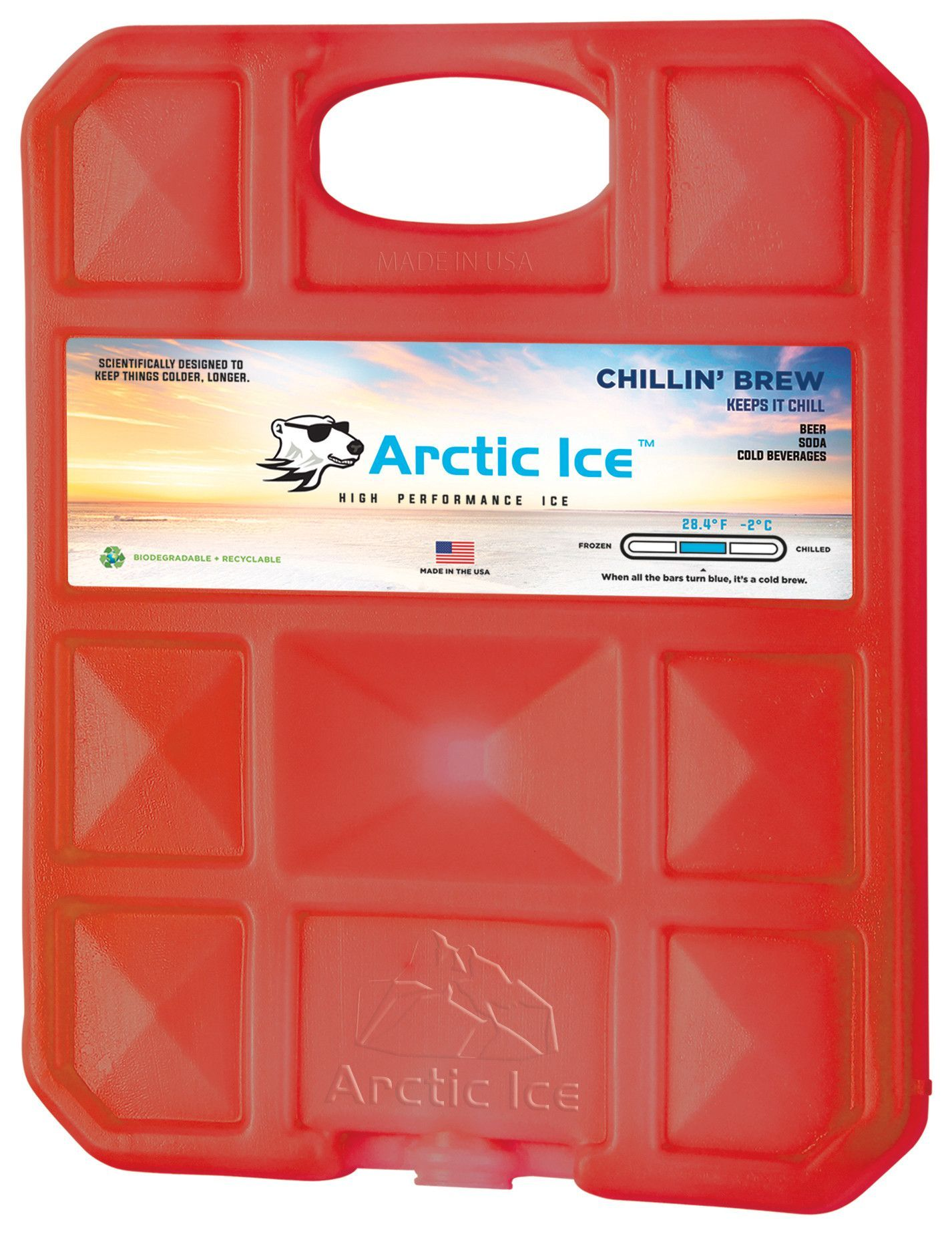 120fbd489962 Chillin' Brew 2 Degree P.C.M. Reusable High Performance Ice Chillin ...