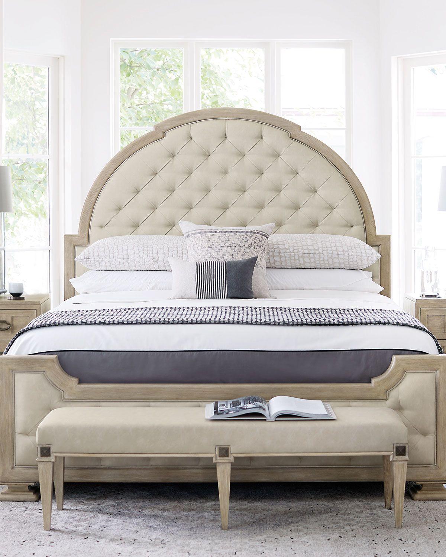 Bernhardt Santa Barbara Tufted Queen Bed