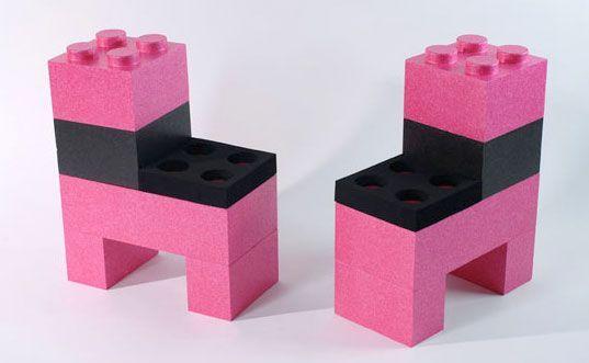 Schwarz Immer Lego Sehen AusDiy Stühle Und Gut In Pink UqzMSVpG