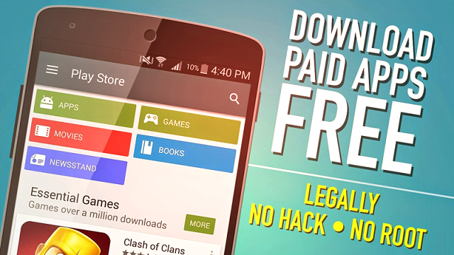 free from paid games play store download