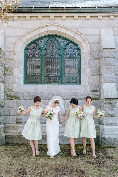 Heather And Sam S Wedding In Portland Maine Bridesmaid Dresses Teal Bridesmaid Dresses Bridesmaid