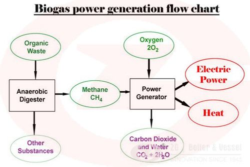 Biogas steam boiler working principle | Industrial boiler www ...