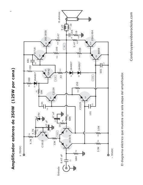 amplificador estereo 250 watts in 2019