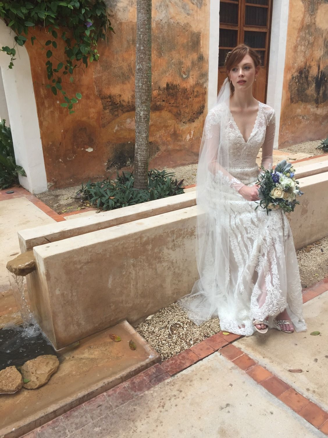 David bridal wedding dress  On Location Fall  Melissa Sweet Photo Shoot  Davidus Bridal