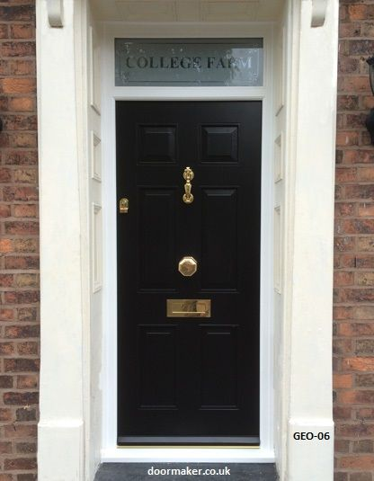 georgian front door, victorian doors, edwardian doors, georgian ...