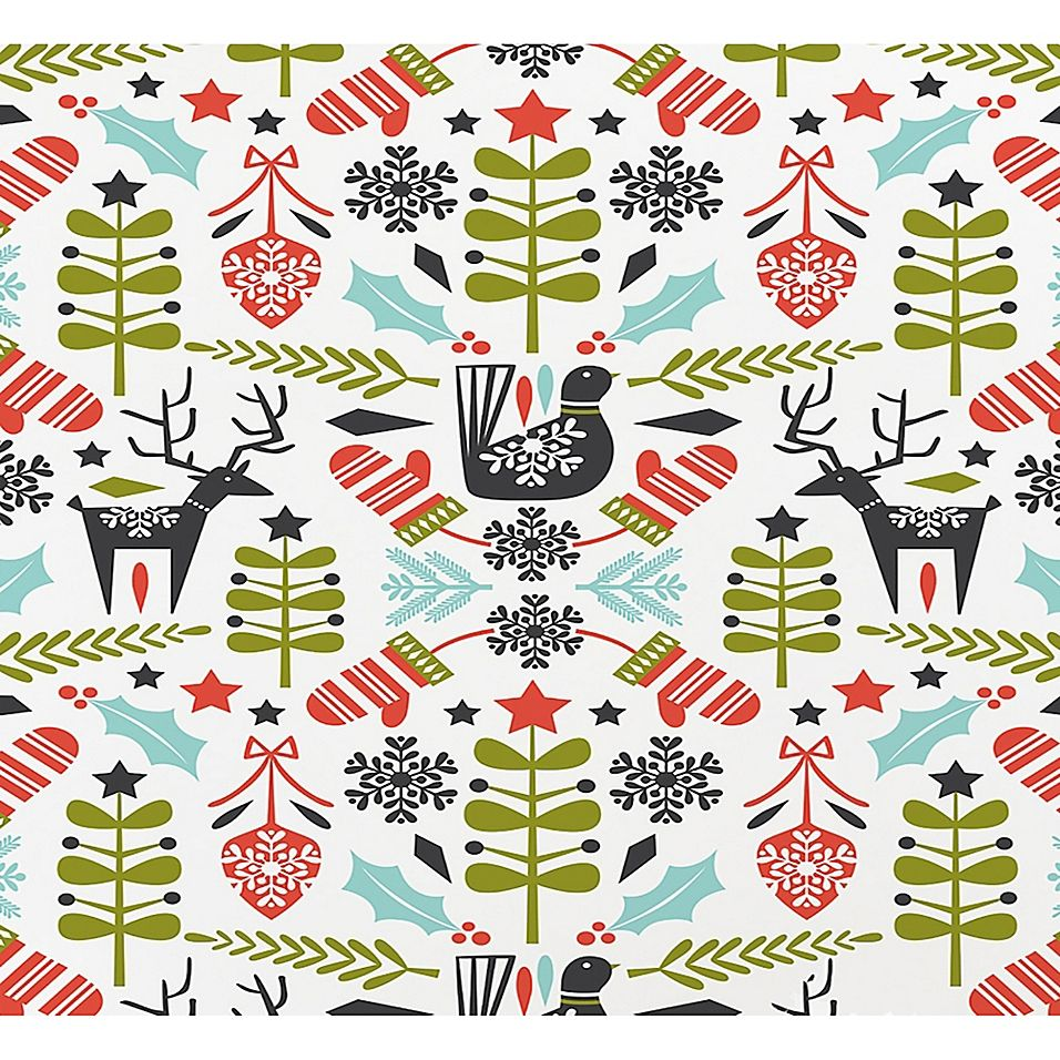 deny designs hygge holiday 16 x 20 paper wall art multi on hygge wall decor id=21141