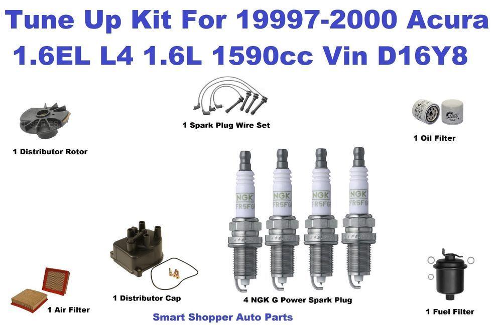Tune Up Kit 9700 Acura 16el Spark Plug Wire Set Oil Air Fuel Rhpinterestch: Fuel Filter Distributor Cap Rotor At Gmaili.net