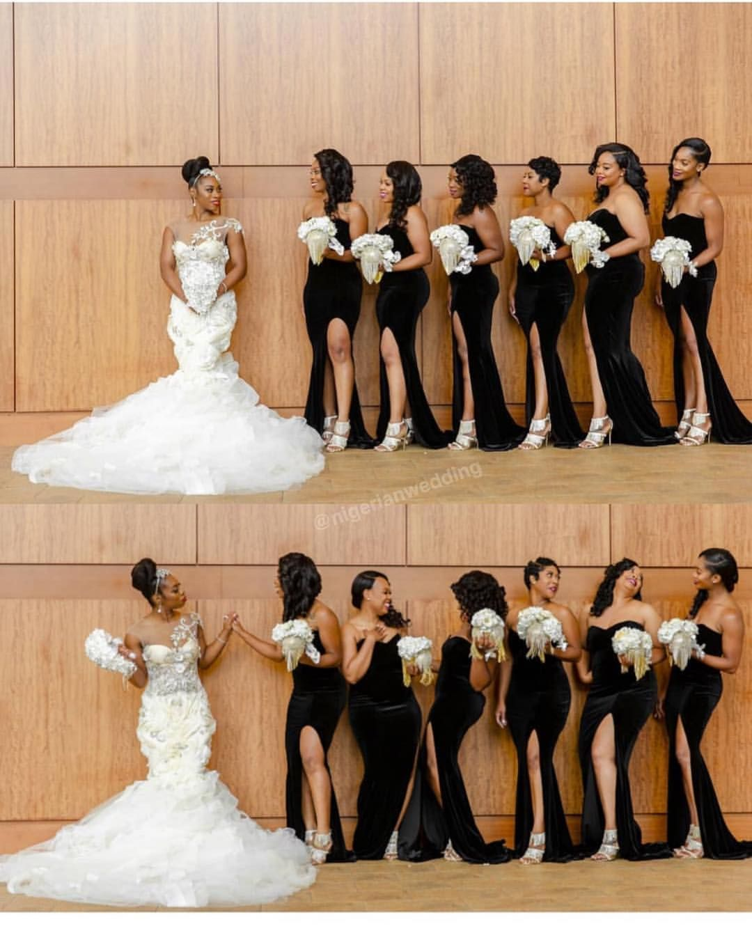 Mslisag2017 For The Love Of Black Slits More Nwbms Nigerianwedding Wedding Picture Poses Wedding Poses Wedding Bridesmaids