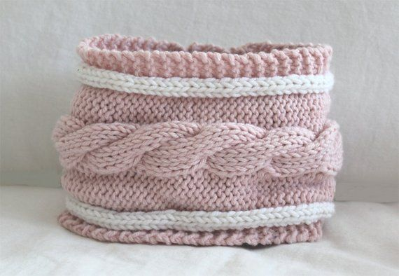 Baby KNITTING PATTERN- Child's Cable Cowl PDF knitting ...
