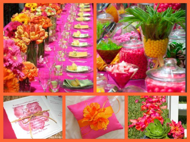 Ideas For The Tropical Themed Wedding: Tropical Themed Wedding