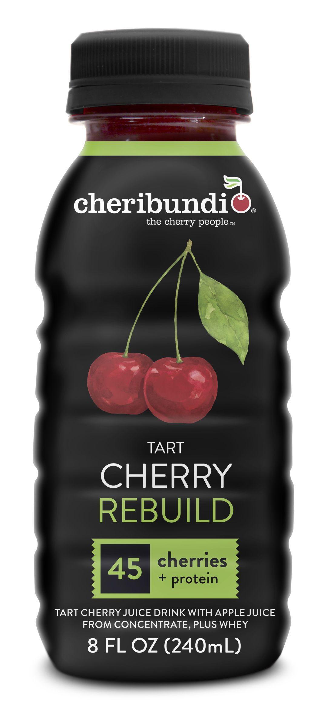 Cheribundi Tart Cherry REBUILD with 8 grams of whey protein