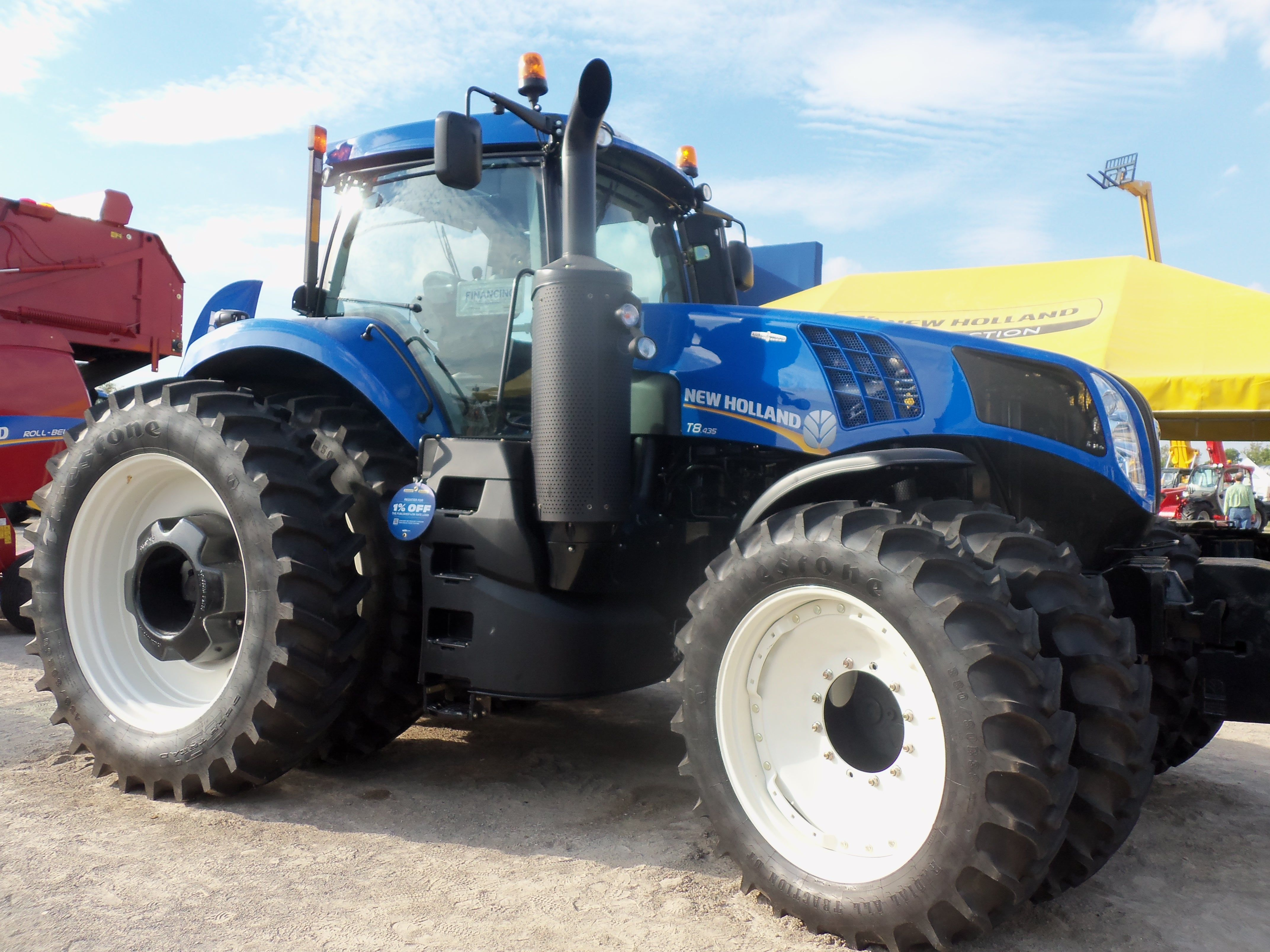 New Holland Tractor New Holland Tractor Big Tractors New