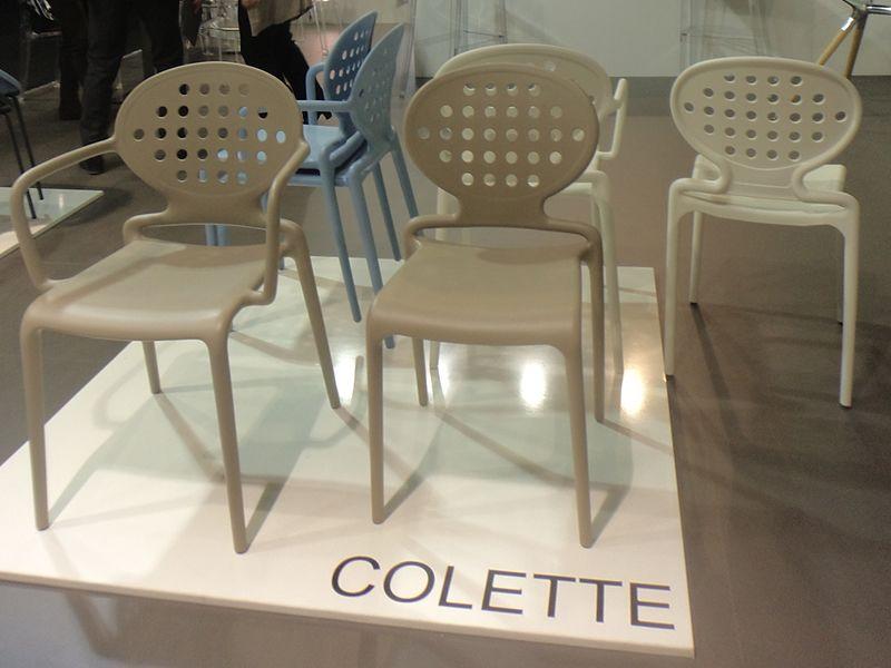 Colette chairs by Scab Design   MAISON & OBJET 2014   Pinterest ...