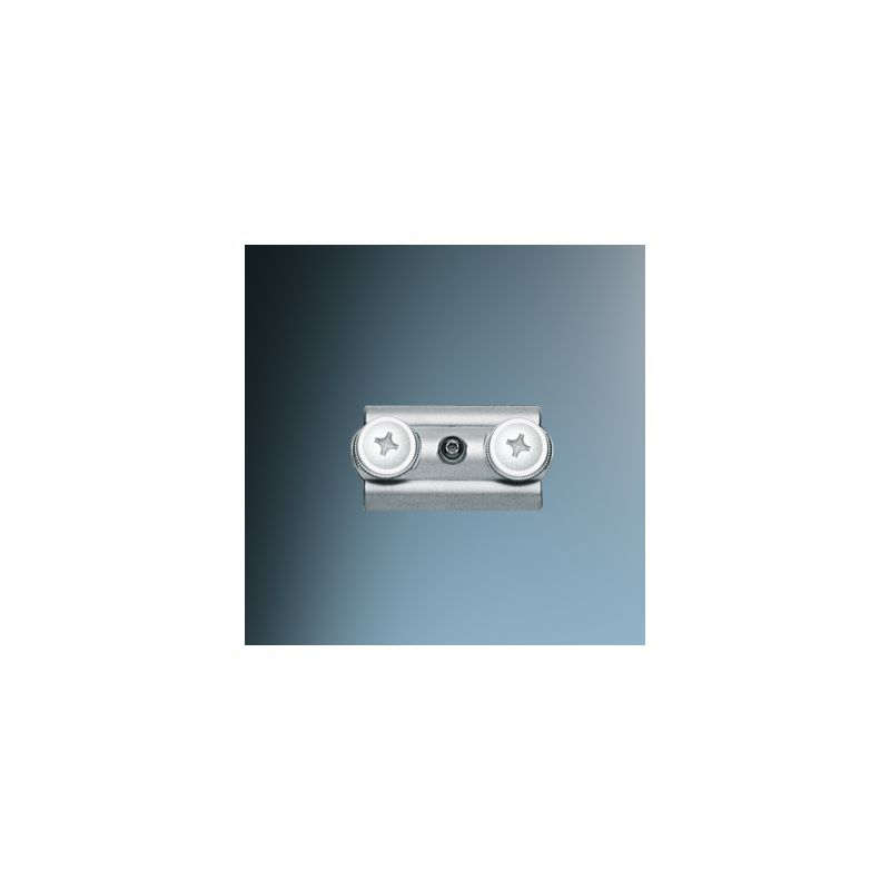 bruck lighting track systems. Bruck Lighting 140320 Connector Element For Enzis Track Systems Matte Chrome / Conductive Indoor