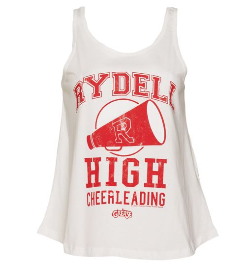4a3f927b27e5b Ladies Grease Rydell High Cheerleading Swing Vest   TruffleShuffle ...