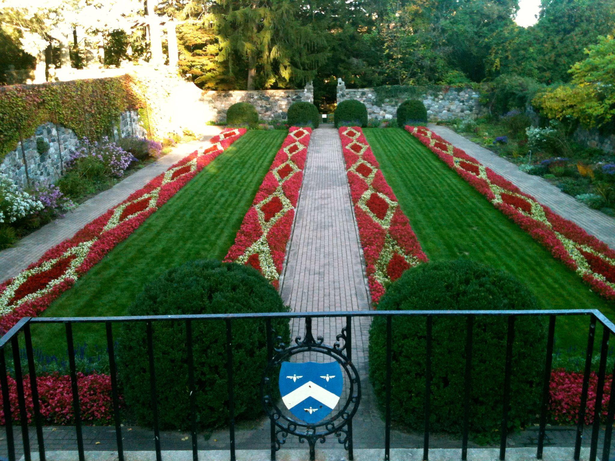 Sunken Gardens, Cranbrook House | Cranbrook Educational Community ...