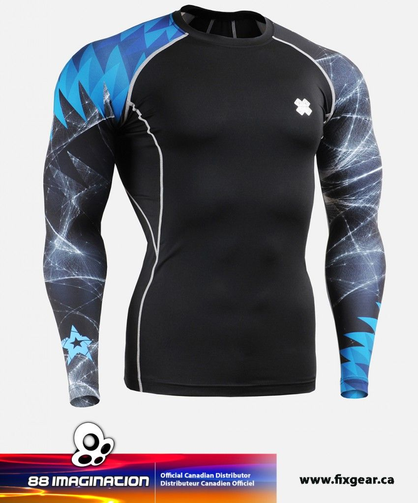 2020 clear-cut texture hot-selling latest FIXGEAR CPD-B65 Compression Base Layer Shirt | under armour ...