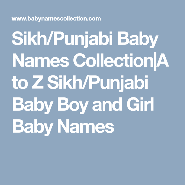 Pin On Indian A To Z Baby Names Collection