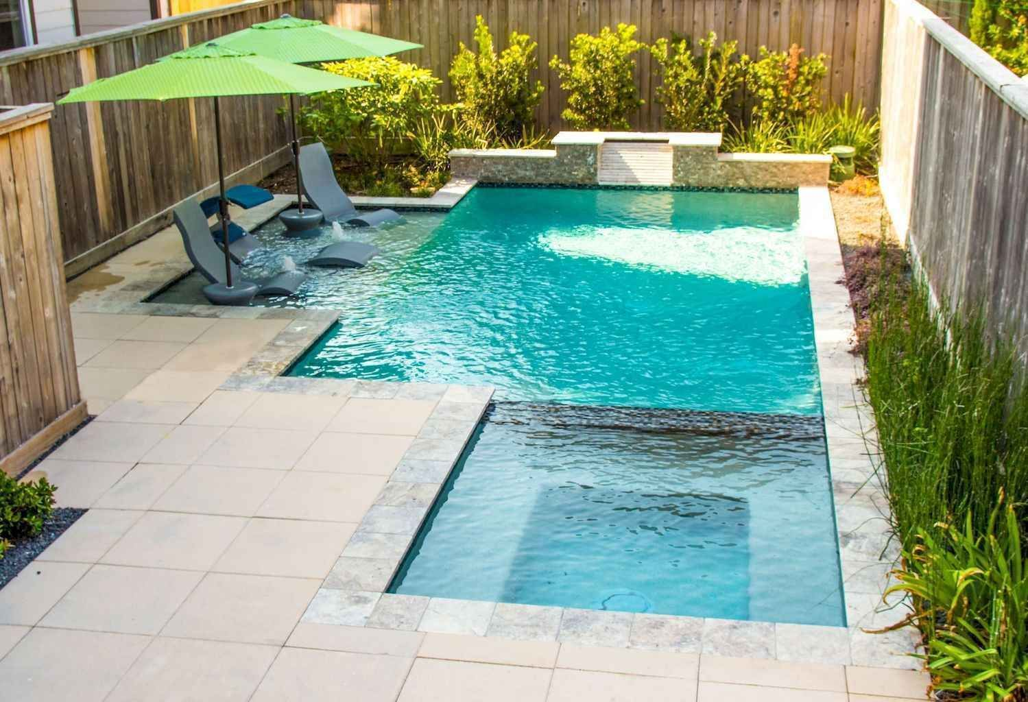 Small Backyard Swimming Pool Ideas And Design 30 Small Backyard Pools Backyard Pool Landscaping Backyard Pool Designs