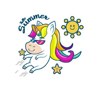 Beautiful Unicorn With Summer Unicorn Clipart Unicorn Summer Png And Vector With Transparent Background For Free Download Beautiful Unicorn Unicorn Illustration Unicorn Logo