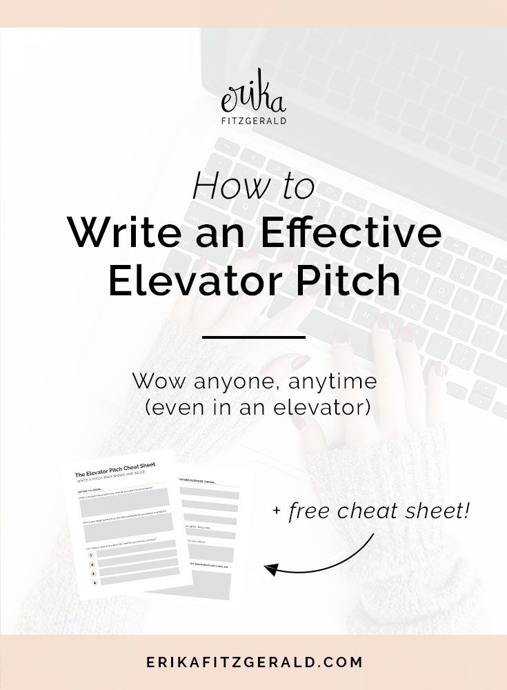Win Clients And Impress People How To Write An Effective Elevator Pitch Copywriting Tips Copywriter Content Writing Tips Writing Tips Writing Jobs Pitch